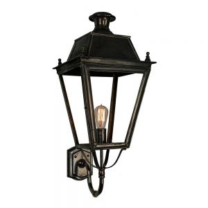 Balmoral Solid Brass Exterior 1 Light Wall Lantern