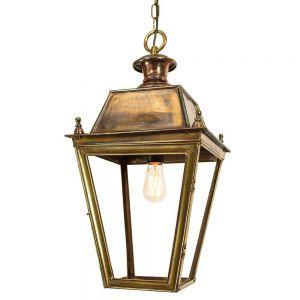 Balmoral Solid Brass Large 1 Light Hanging Lantern