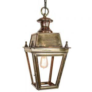 Balmoral Solid Brass Outdoor Hanging Lantern