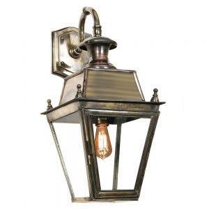 Balmoral Solid Brass Exterior Hanging Wall Lantern