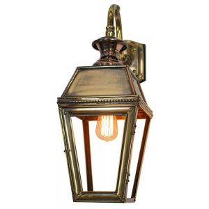 Kensington Solid Brass Exterior 1 Light Wall Lantern