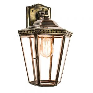 Chelsea Solid Brass Exterior Hanging Wall Lantern