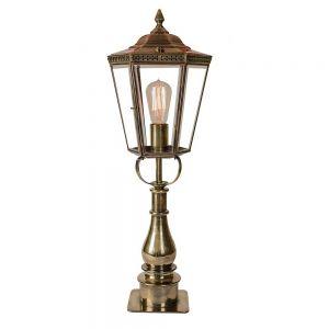 Chelsea Solid Brass Pillar Lamp