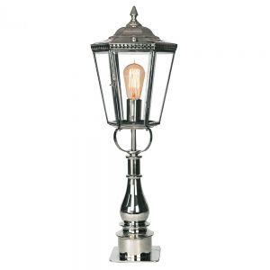 Chelsea Nickel Plated Solid Brass Pillar Lamp