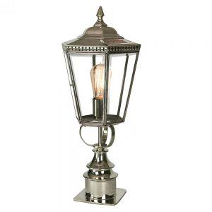 Chelsea Nickel Plated Solid Brass Short Pillar Lamp