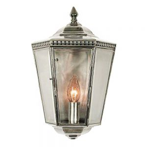 Chelsea Nickel Plated Solid Brass Passage Lamp