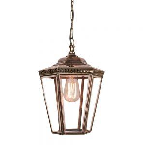 Chelsea Solid Copper Exterior 1 Light Hanging Lantern