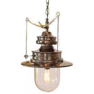 Paddington Solid Copper and Brass 1 Light Pendant