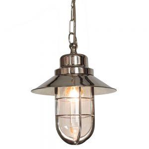 Wheelhouse Hanging Porch Lamp In Nickel