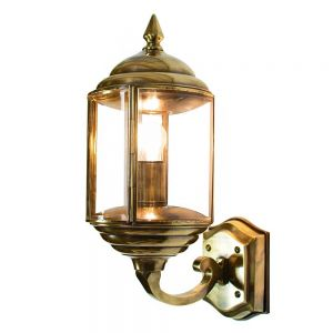 Wentworth Solid Brass 1 Light Wall Lamp