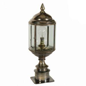 Wentworth Solid Brass 1 Light Short Pillar Lamp