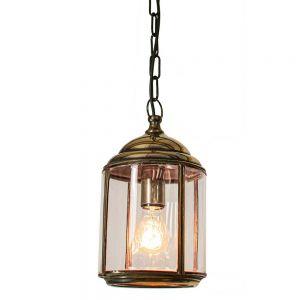 Wentworth Solid Brass 1 Light Pendant
