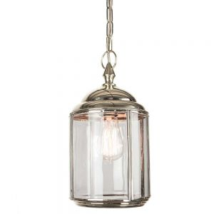 Wentworth Nickel Plated Solid Brass 1 Light Pendant