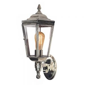Windsor Nickel Plated Solid Brass 1 Light Wall light