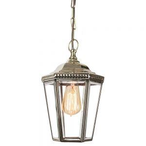 Windsor Nickel Plated Solid Brass 1 Light Pendant