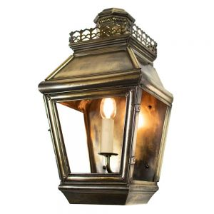 Chateau Solid Brass 1 Light Exterior Passage Lamp