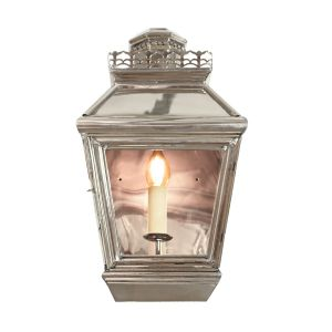 Chateau Nickel Plated Solid Brass 1 Light Passage Lamp