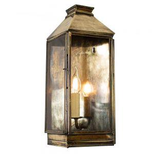 Greenwich Solid Brass 1 Light Wall Lantern