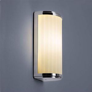 Monza IP44 Polished Chrome Classic 250 Bathroom Wall Light