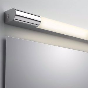 Palermo IP44 LED Bathroom Mirror Vanity Light In Polished Chrome 60cm