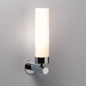 Tube IP44 Modern Chrome Bathroom Wall Light