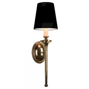 Grosvenor Solid Brass 1 Light Wall Light