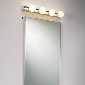 Cabaret IP44 Polished Chrome 4 Light Bathroom Wall Light