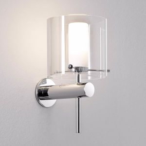 Arezzo IP44 Modern Chrome Bathroom Wall Light