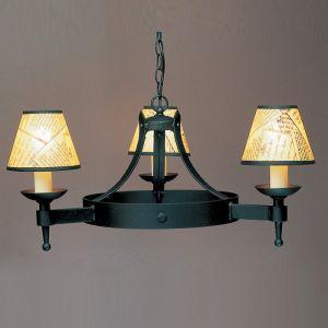 Saxon SMRR01073 3 Light Pendant Ceiling Fitting