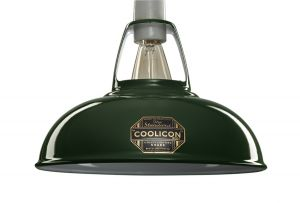 Coolicon Small Classic Pendant In Original Green