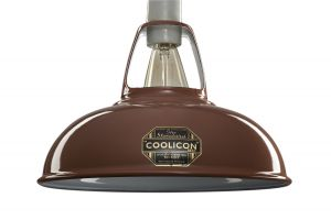 Coolicon Small Classic Pendant In Terracotta