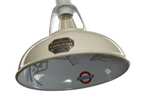 Coolicon Small Underground Interior Pendant In Classic Cream
