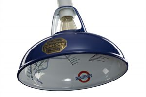 Coolicon Small Underground Interior Pendant In Royal Blue