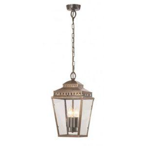 EC4-1 Outdoor Ceiling Lantern In Brass