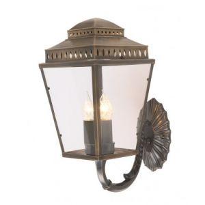 EC4-1 Outdoor Wall Lantern Light In Aged Brass
