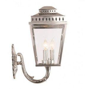 EC4-1 Outdoor Wall Lantern In Polished Nickel