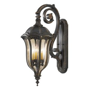 FE/BATONRG/L Outdoor 4 Light Die Cast Aluminium Wall Lantern
