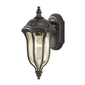 FE/BATONRG/S Outdoor 1 Light Die Cast Aluminium Wall Lantern