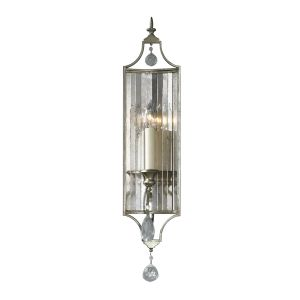 Gianna 1 Light Gilded Silver Wall Sconce