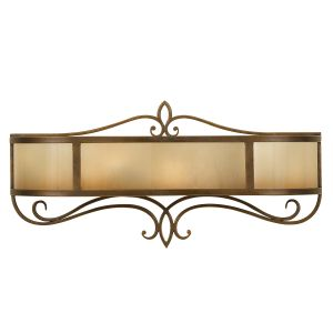 Justine 2 Light Astral Bronze Vanity Light