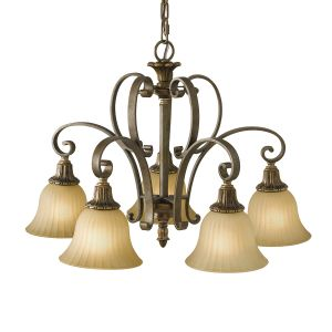 Kelham 5 Light Firenze Bronze Downlighter