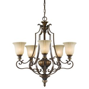 Kelham 5 Light Firenze Bronze Uplighter