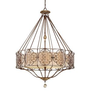 Marcella 4 Light British Bronze Ceiling Pendant