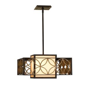 Remy 2 Light Adj Heritage Bronze Chandelier