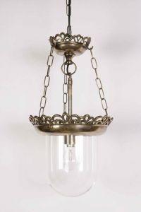 Small Storm Solid Brass 1 Light Pendant
