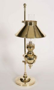 Captains Solid Brass 1 Light Table Lamp