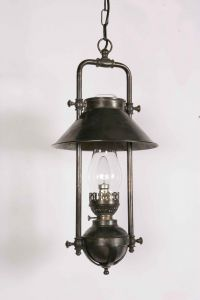Captains Solid Brass 1 Light Pendant