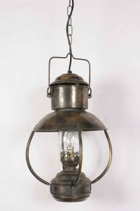 Falmouth Solid Brass 1 Light Lantern