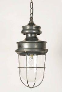 Warehouse Solid Brass 1 Light Lantern