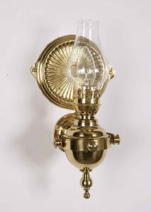Yacht Solid Brass 1 Light Wall Lamp